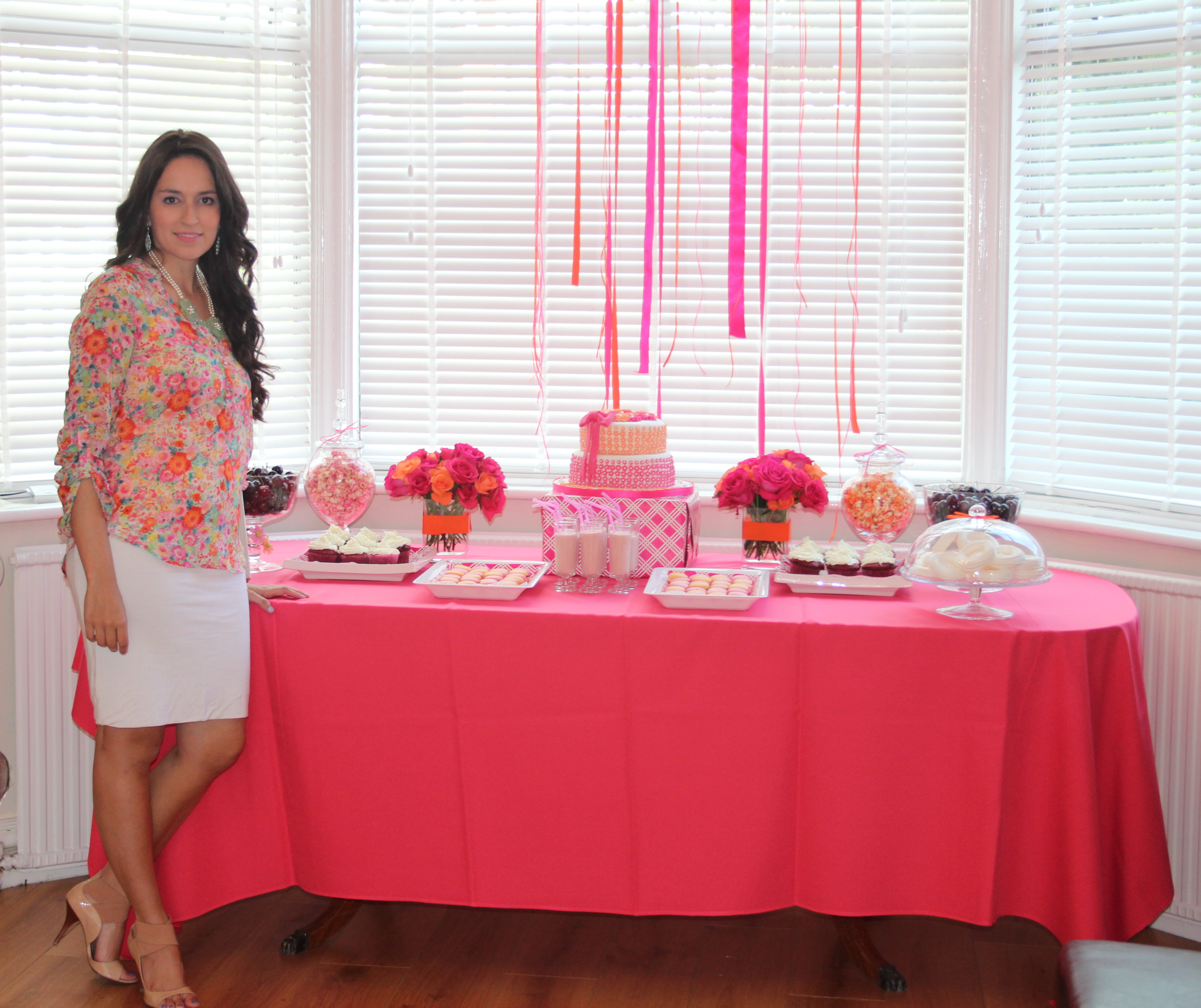 baby shower ideas for girls on a budget baby liat welcome party