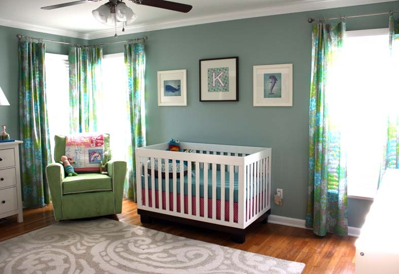 How color affects your baby project nursery Calming colors for baby nursery