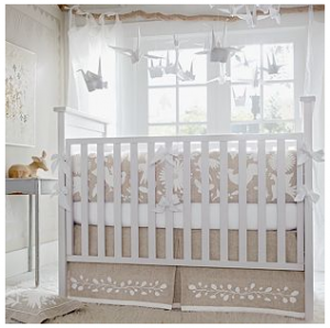 Serena and Lily Embroidered Crib Bedding