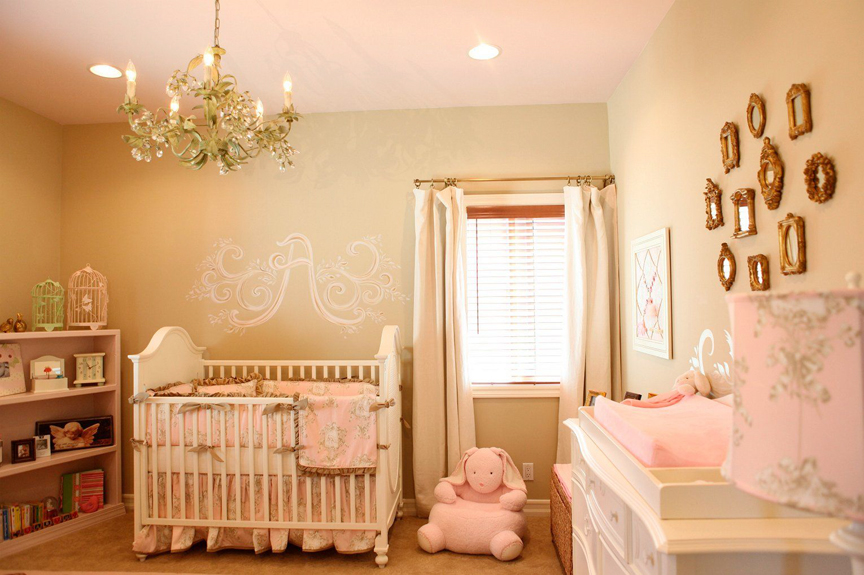 baby girl nursery on - photo #24