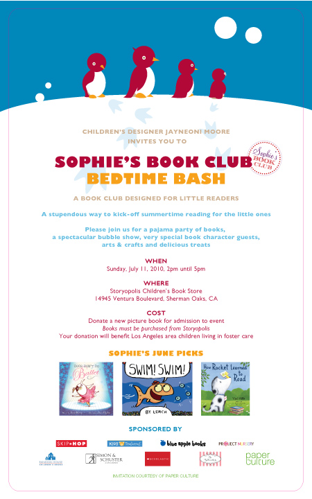 Sophie's Book Club