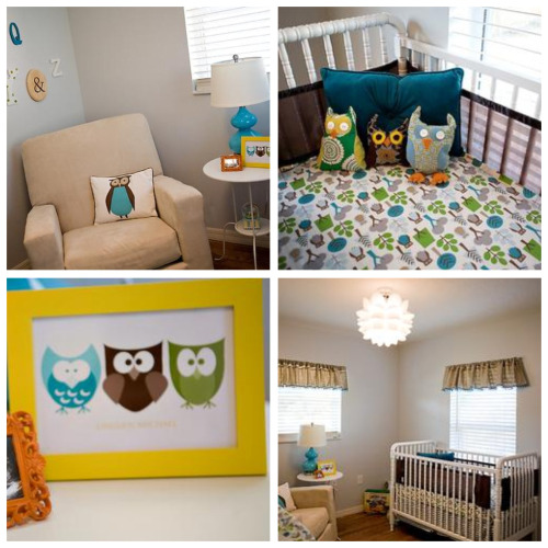 Owl Themed Nursery Party