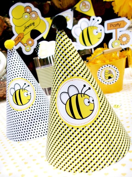 Honey Bumble Bee Party by Bird Crafts05