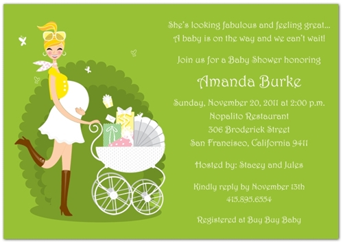 custom baby shower invitations and birth announcements