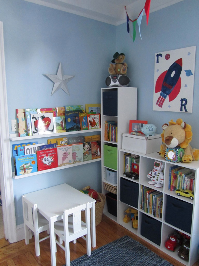 Toddler Boy Room Ideas: Little B's Big Boy Room