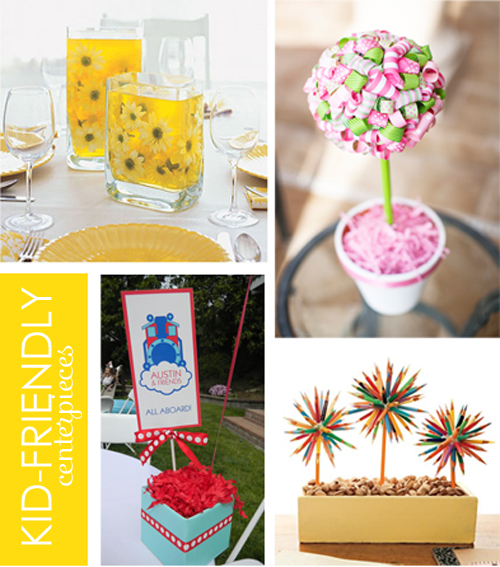 Kid-Friendly Party Centerpieces