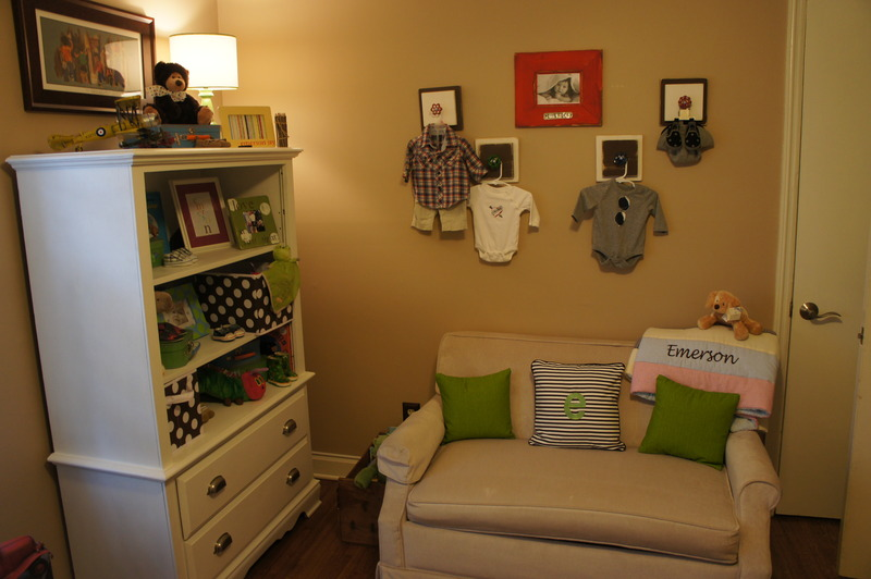 ABC Vintage Nursery Room View