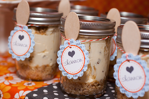cheesecake party favors