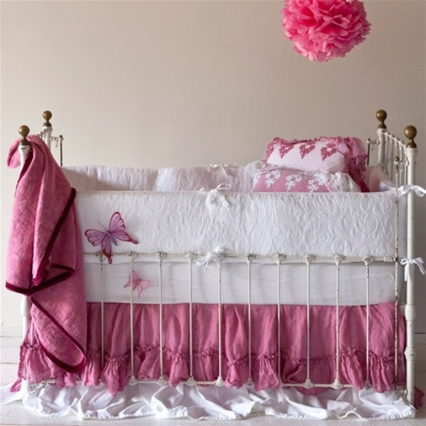 Ruffle Crib Bedding Patterns