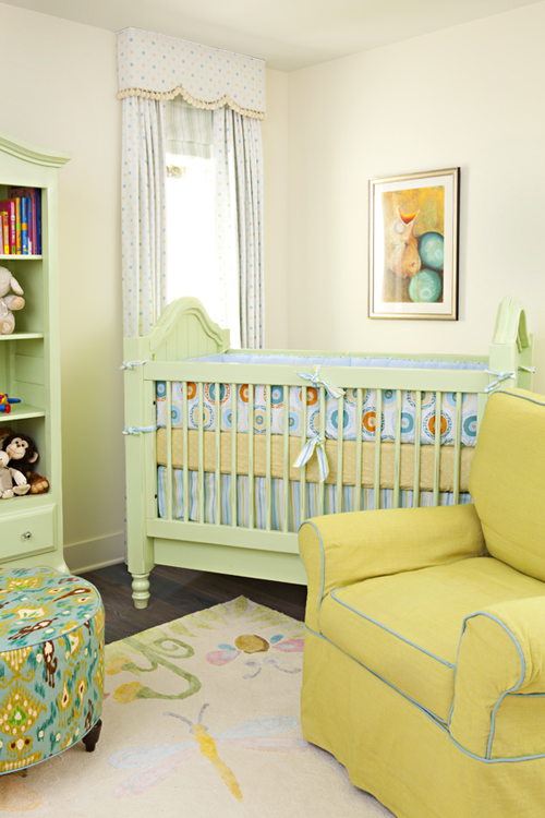 Ikat Prints And Other Interesting Patterns Add The One Of A Kind Element That Every Nursery Needs
