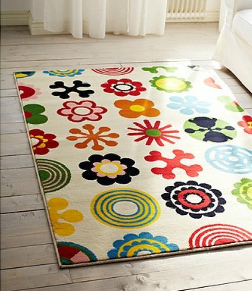 Lusy Blom Rug from Ikea