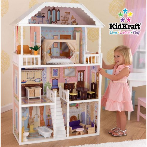 Best christmas ever the doll house - Maison poupee kidkraft ...