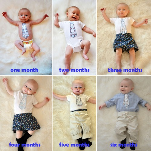 9 Month Baby Portrait Ideas http://projectnursery.com/2011/12/monthly-baby-photo-ideas/