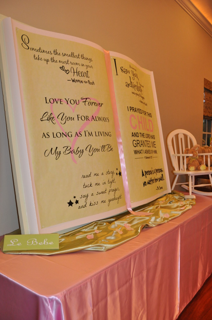 baby shower food ideas baby shower ideas storybook theme