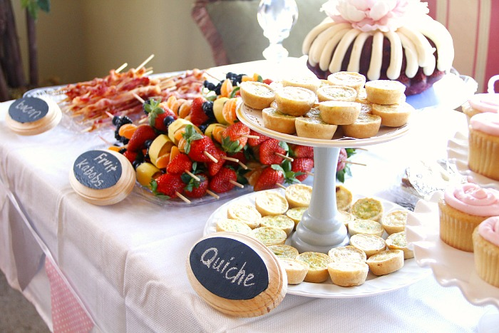 baby shower brunch food menu baby shower food ideas baby shower menu