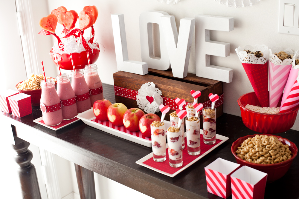 Healthy Valentine's Day Treats - Project Nursery