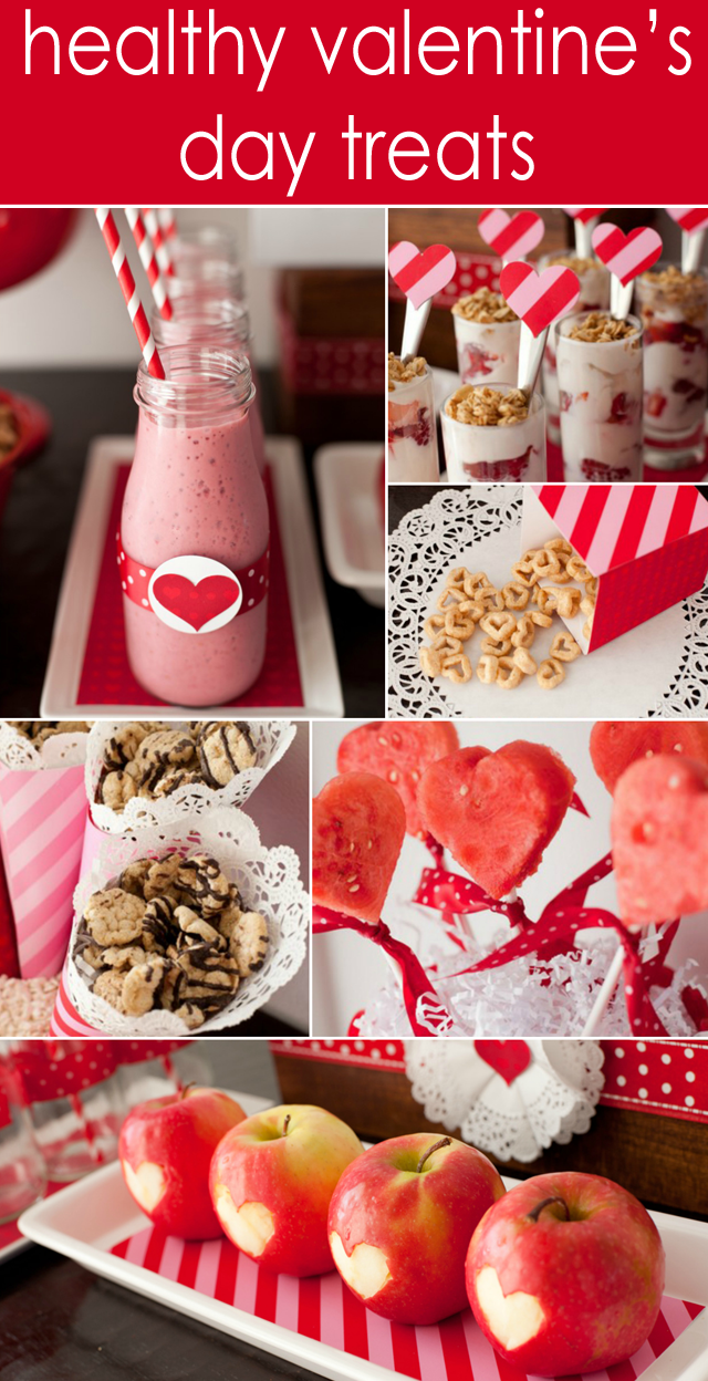 Healthy Valentine's Day Treats for Kids - Project Nursery