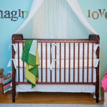 Bright Colored Nursery
