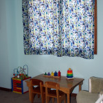 Curtains made from Alexander Henry 2-D Zoo Fabric