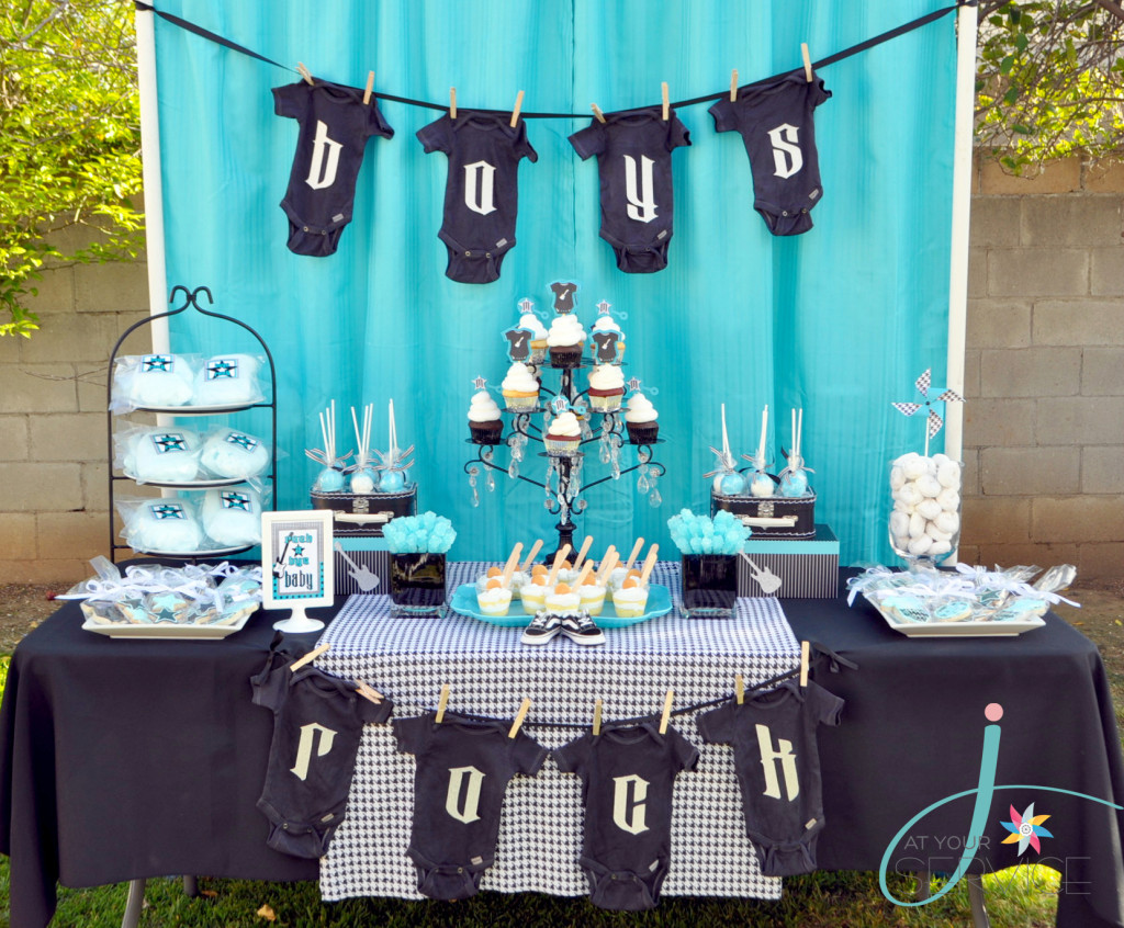 Rock a Bye Baby Dessert table