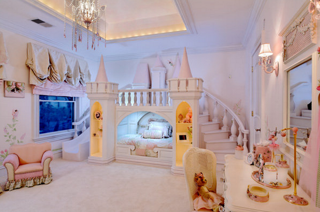Princess-Inspired Girls Rooms