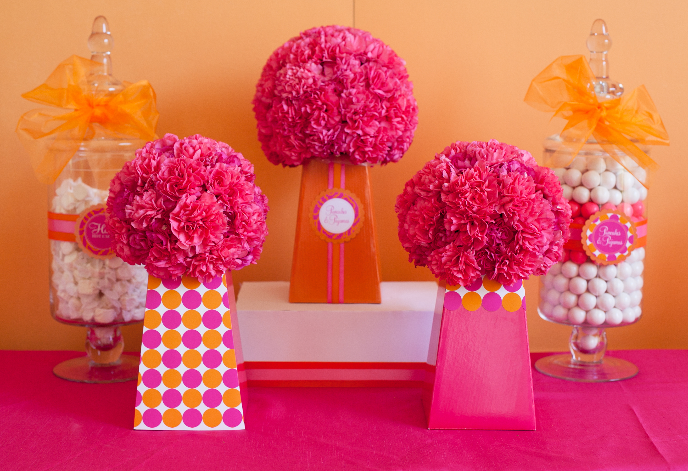 Diy designing centerpieces to match your party