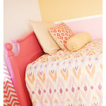 Annette Tatum Bedding paired with the beautiful Emily Bed from Newport Cottages