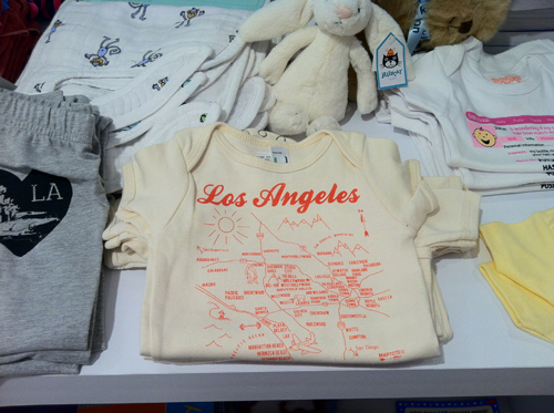Los Angeles Tee Shirt from Kitson