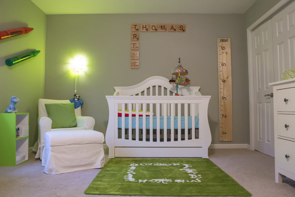 Trent's Colorful Nursery & Play Room