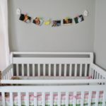 Crib and Photo hanger