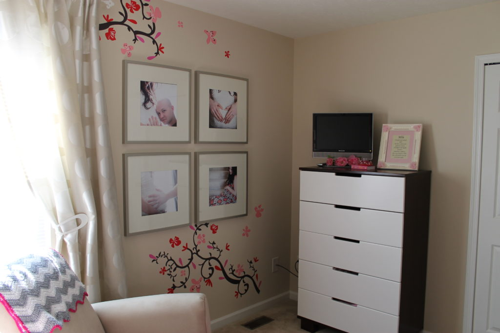 Cherry Blossom Gray Girl Nursery Cherry Blossom Decals