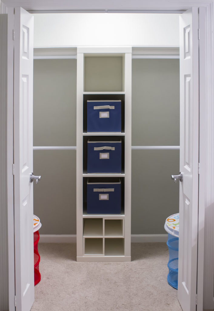 Colorful disney and toy story inspired nursery and play for Inspired closets