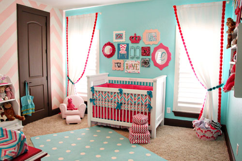 Design Reveal: Lila's Chevron Nursery