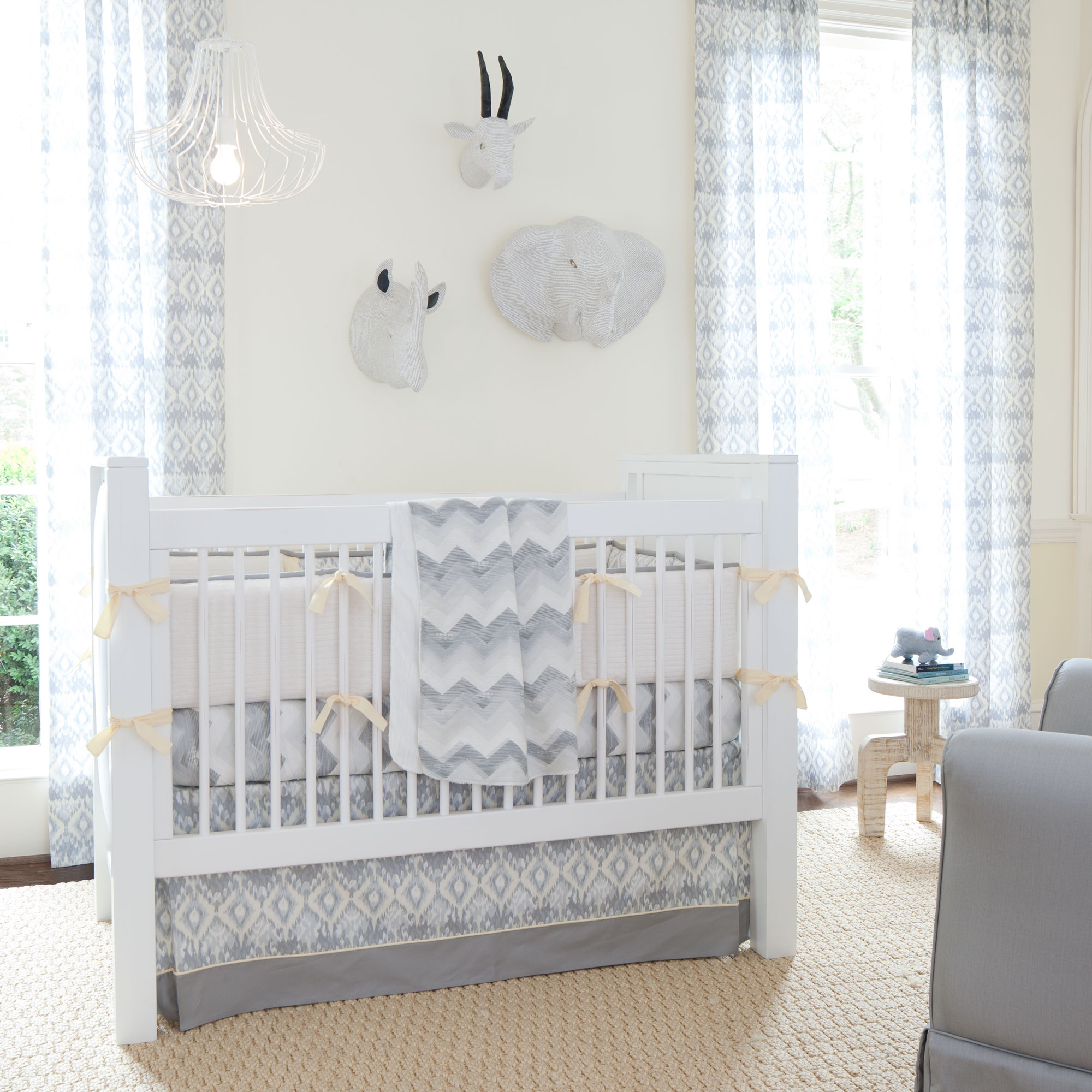 Giveaway crib bedding set from carousel designs for Bedding room furniture