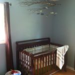 crib and mobile