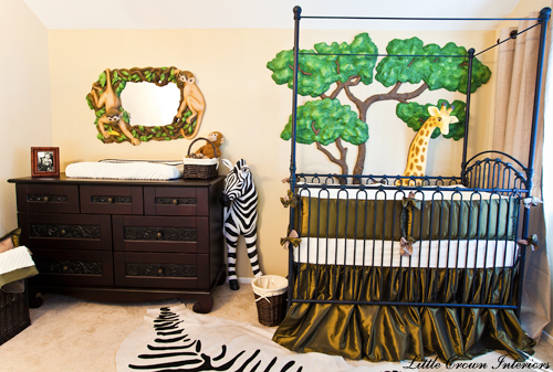 luxurious boys nursery