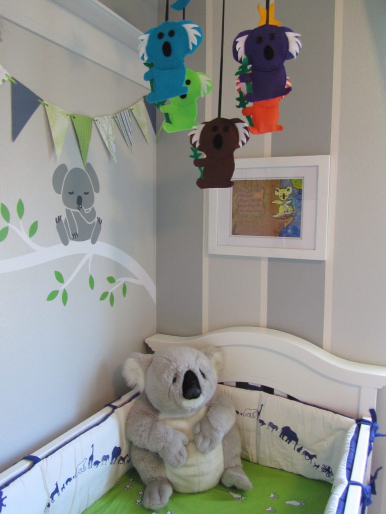 Koala Theme Nursery Project Nursery