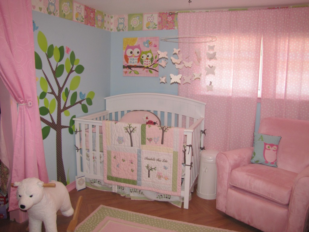 Epic Girls u Shared Owl Nursery by alobo