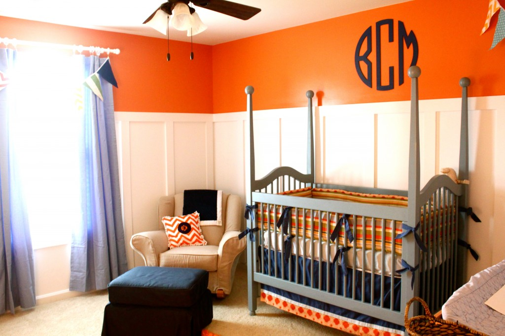Vote august room finalists for Blue and orange room