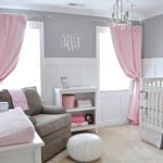 Gray and Pink Nursery