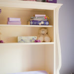 White Changing Table with Hutch