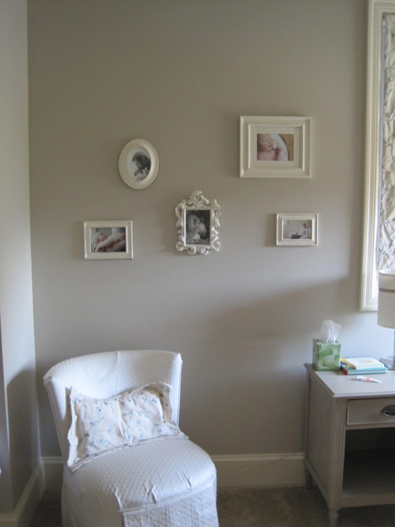 Gray And Cream Baby Girl S Nursery Project Nursery