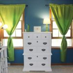 Jack's Nursery:  Dresser and Curtains