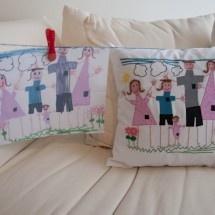 Custom Pillow based on Child's Drawing