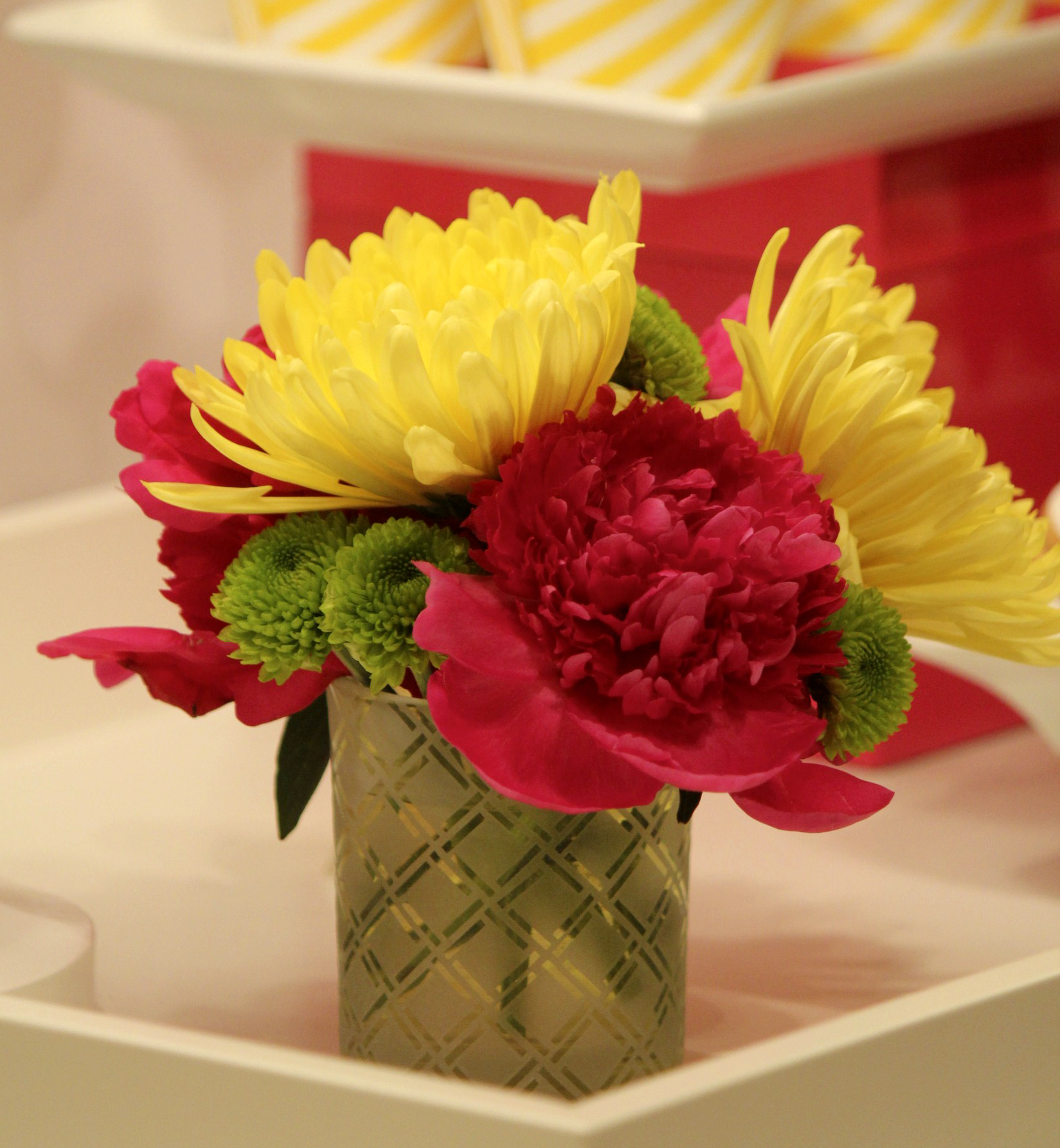 Red And Yellow Flower Arrangements Image Collections Fresh Lotus