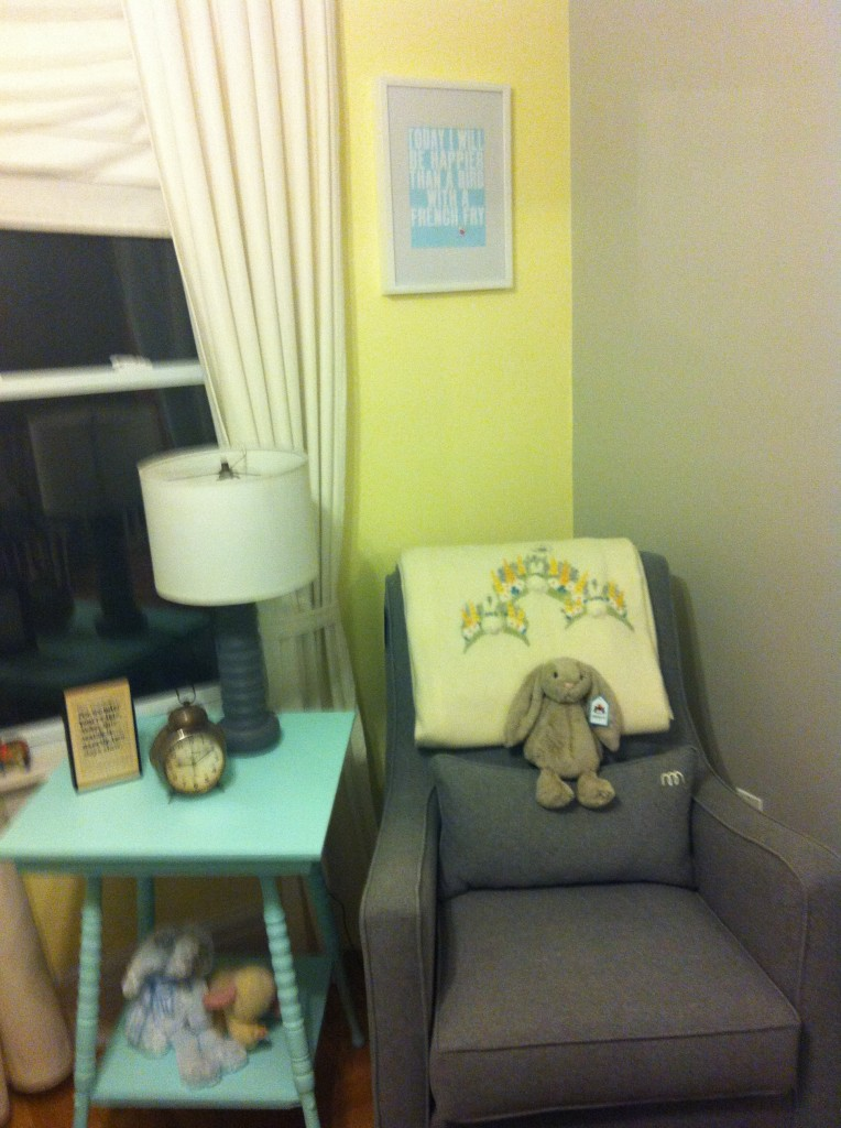 Reading and Feeding Corner