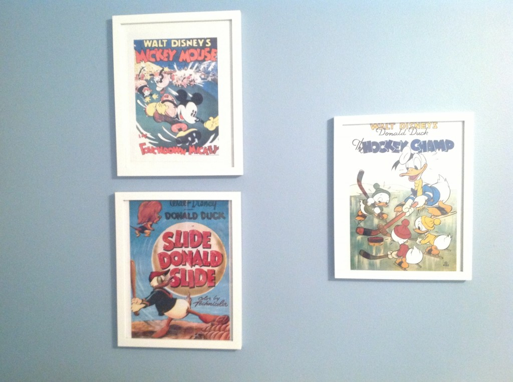 Disney sports posters