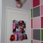 Elephant Bust and Headband Storage