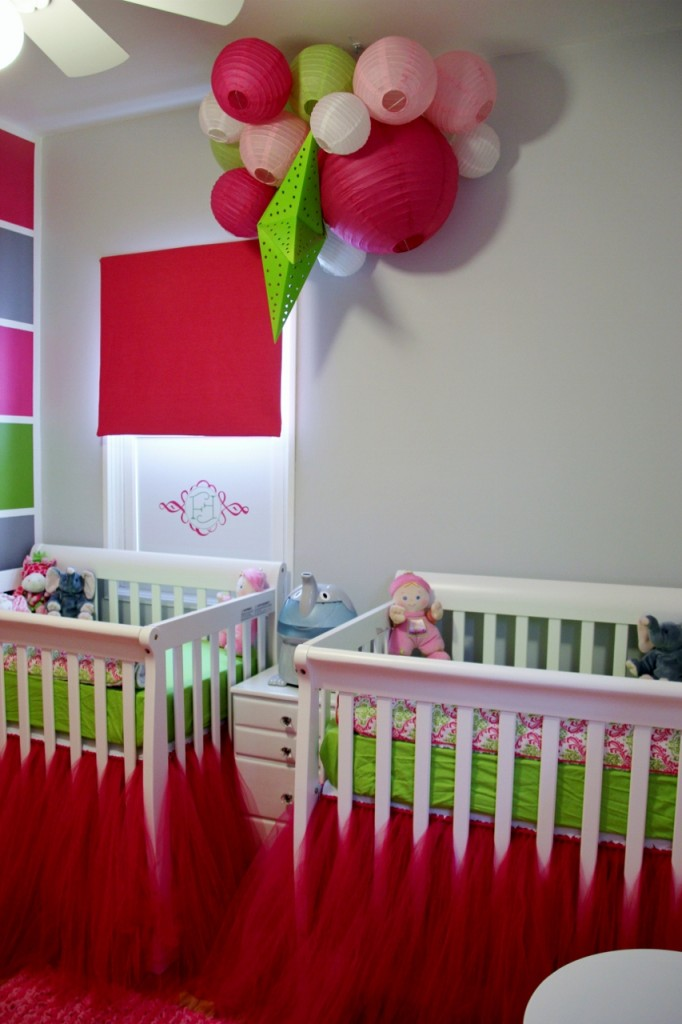 Mini Cribs with Tutu Bed Skirt