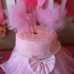 Ballerina Birthday Party_Cake
